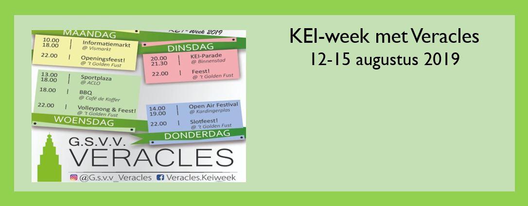 Kom de KEIweek beleven bij Veracles!