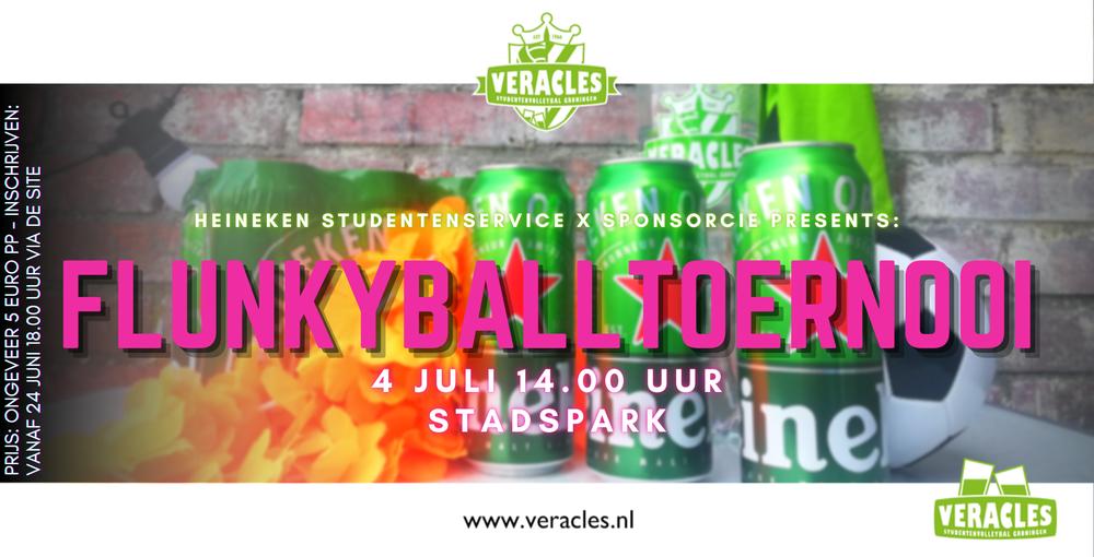 Heineken Studentenservice x SponsorCie presents: Flunkybaltoernooi!