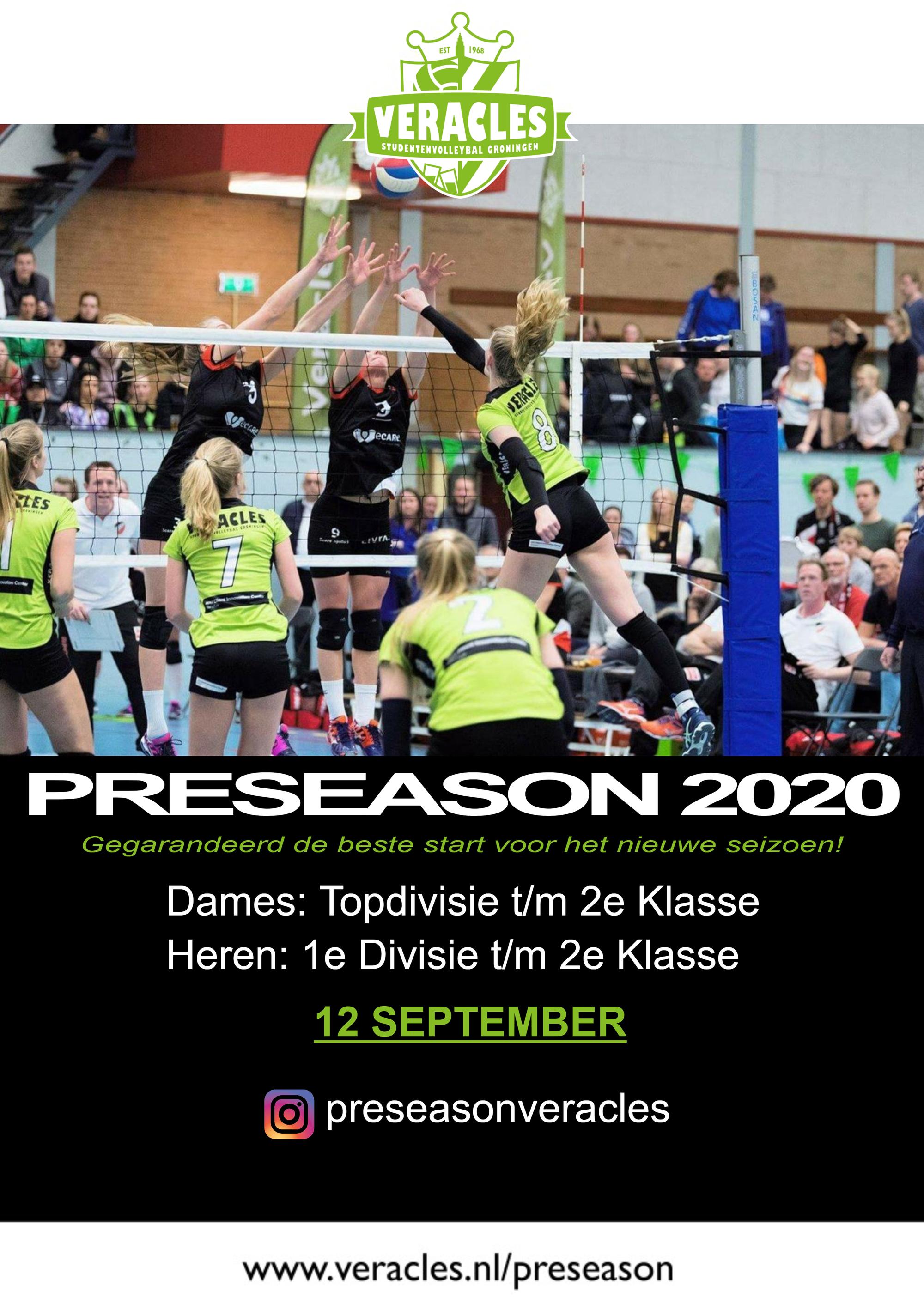 Preseason Toernooi - 2020