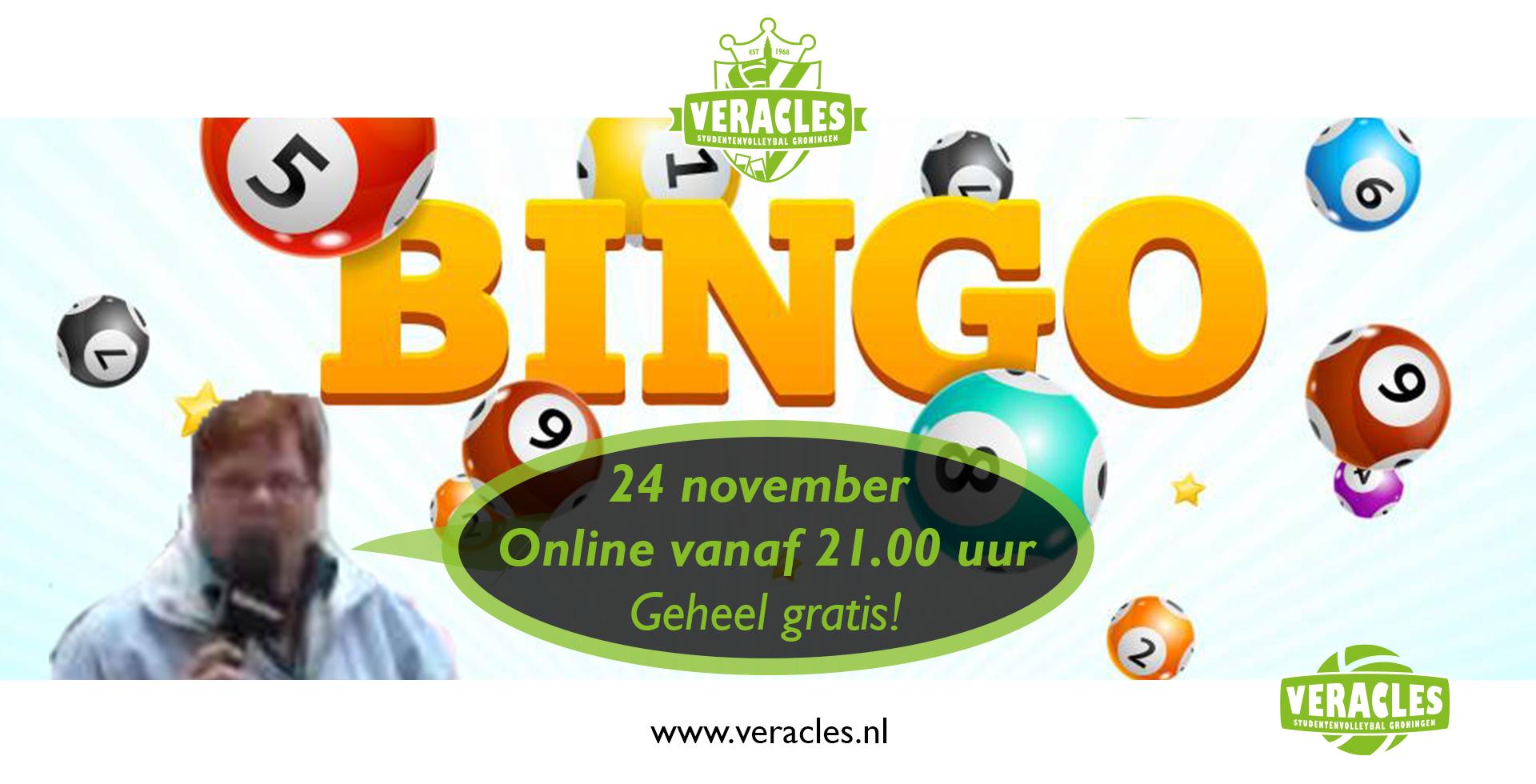 Online bingo avond met de FC